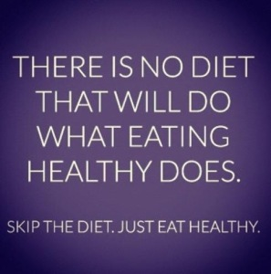 no diet for healthy