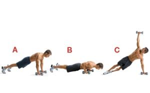 Push-up-and-Rotation